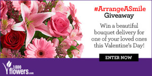 Enter to Win a Fields of Europe Romance arrangement! (10 winners) #ArrangeASmile