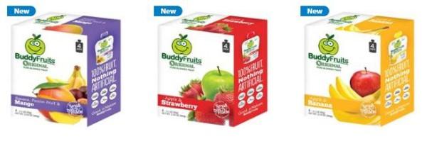 Buddy Fruits 4-pack