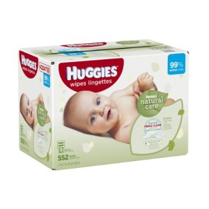 Huggies Natural Care Wipes 552 ct as low as $7.65 Shipped!
