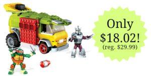 Mega Bloks Teenage Mutant Ninja Turtles Party Wagon – $18.02! (reg. $29.99)
