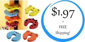 Set of 4 Door Stop Finger Pinch Guards Only $1.97 + FREE Shipping!