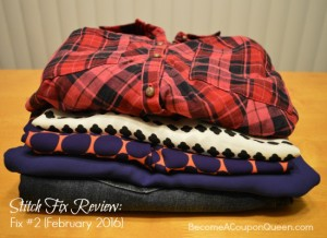 Stitch Fix Review: Fix #2 (February 2016)