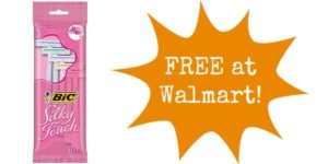 FREE Bic Disposable Razors at Walmart!