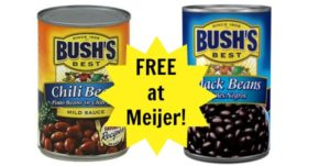 FREE Bush's Beans at Meijer!