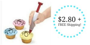 Cake Decorating Pen Only $2.80 + FREE Shipping!