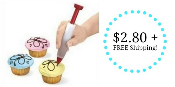 Cake Decorating Company Coupon : Cake Decorating Pen Only USD2.80 + FREE Shipping!