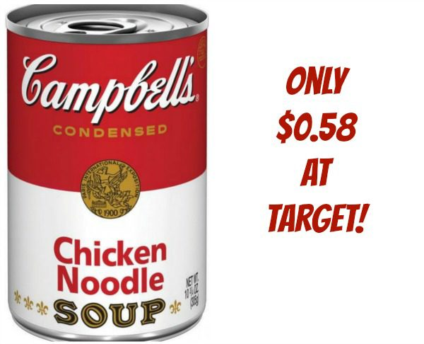 campbell's chicken noodle soup target