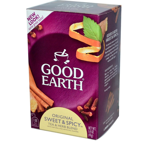 Good Earth teas have no artificial flavors, colors or preservatives. Good Earth is the only tea company that takes you with them when they walk on the wild side. Use new Good Earth coupon codes and save even more on your next purchases.