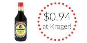 Kroger: Kikkoman Soy Sauce Only $0.94!