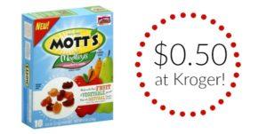 Kroger: Mott's Fruit Snacks Only $0.50!