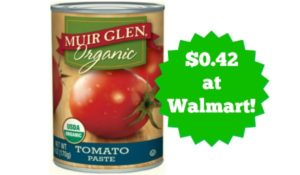 Walmart: Muir Glen Tomato Paste Only $0.42!