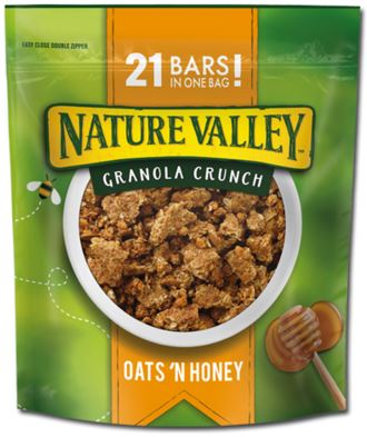 nature valley granola crunch