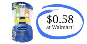 Walmart: Noxzema Triple Blade Razors Only $0.58!