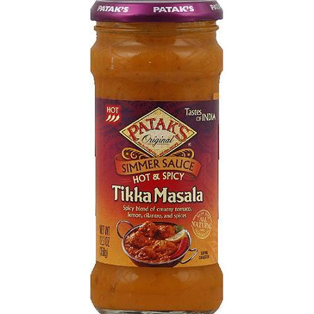 patak's indian sauce