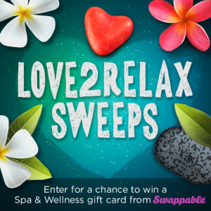 Win a $50 Spa & Wellness Gift Card for You and a Friend from Swappable! #Love2Relax #spon