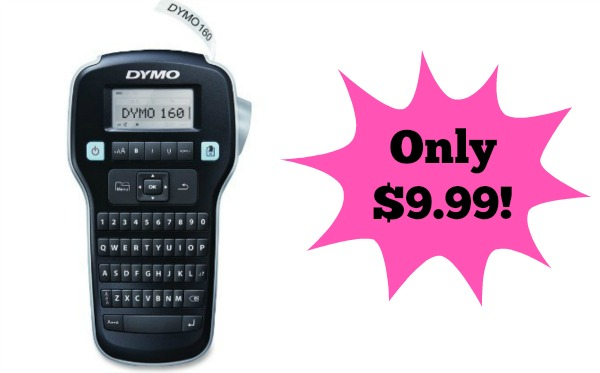 dymo labelmanager 160 hand held label maker only reg. Black Bedroom Furniture Sets. Home Design Ideas
