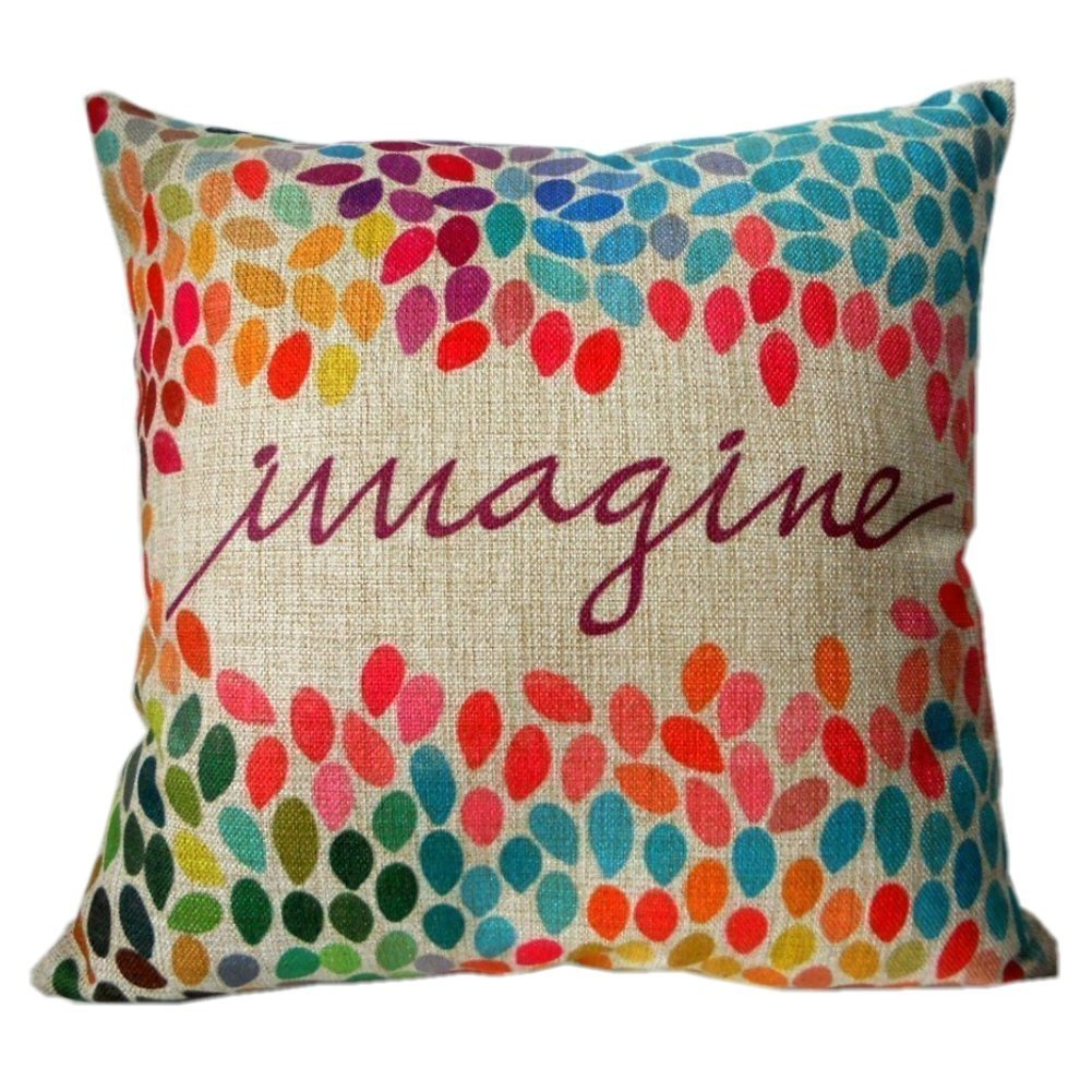 Throw Pillows Dollar General : Imagine Linen Throw Pillow Cover - Become a Coupon Queen