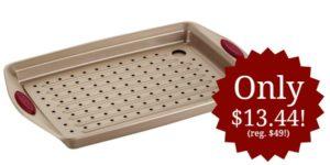 Rachael Ray 2 Piece Cucina Nonstick Bakeware Crisper Pan Set Only $13.44!