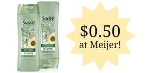 Meijer: Suave Professionals Hair Products Only $0.50!