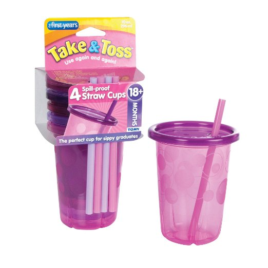 Take and toss straw cups
