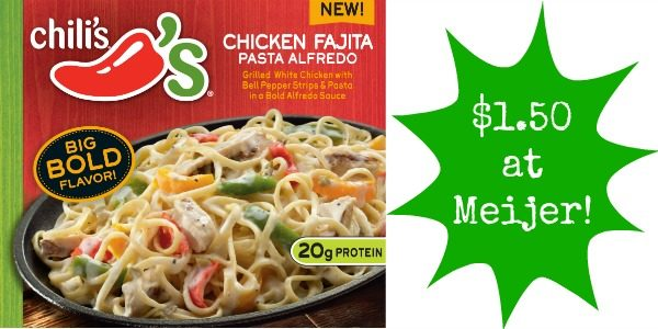 Meijer: Chili\'s Frozen Meals Only $1.50! - Become a Coupon Queen