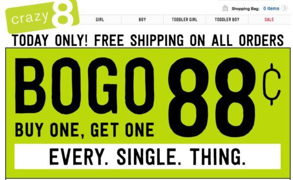 crazy8 coupon