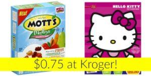 Kroger: Betty Crocker Fruit Snacks Only $0.75!
