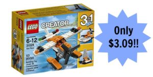 Lego Creator Sea Plane Only $3.09! (lowest price)