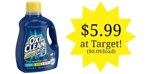 Target Oxiclean Laundry Detergent 67 Loads Only 5 99