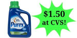 CVS: Purex Laundry Detergent Only $1.50!