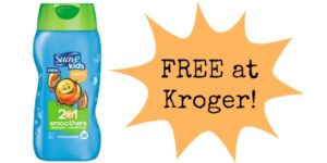 FREE Suave Kids Shampoo at Kroger!