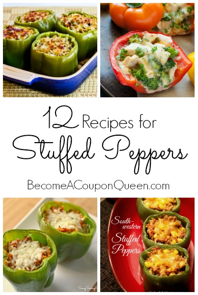 12 recipes for stuffed peppers