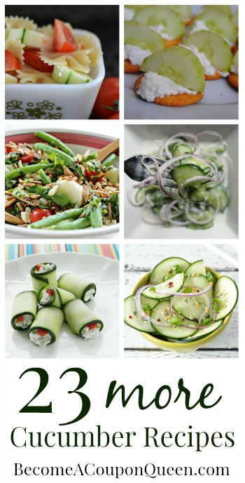 23 more cucumber recipes