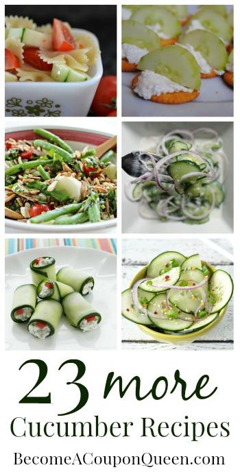 23 more cucumber recipes