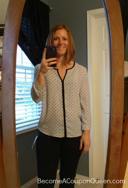 41Hawthorn Litton Split Neck Blouse