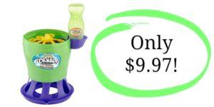 Gazillion Bubble Tornado Toy Only $9.97!