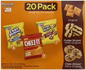 Keebler Cookie and Cheez-It Variety Pack 20-Count as low as $5.09 ($0.25 Each)!