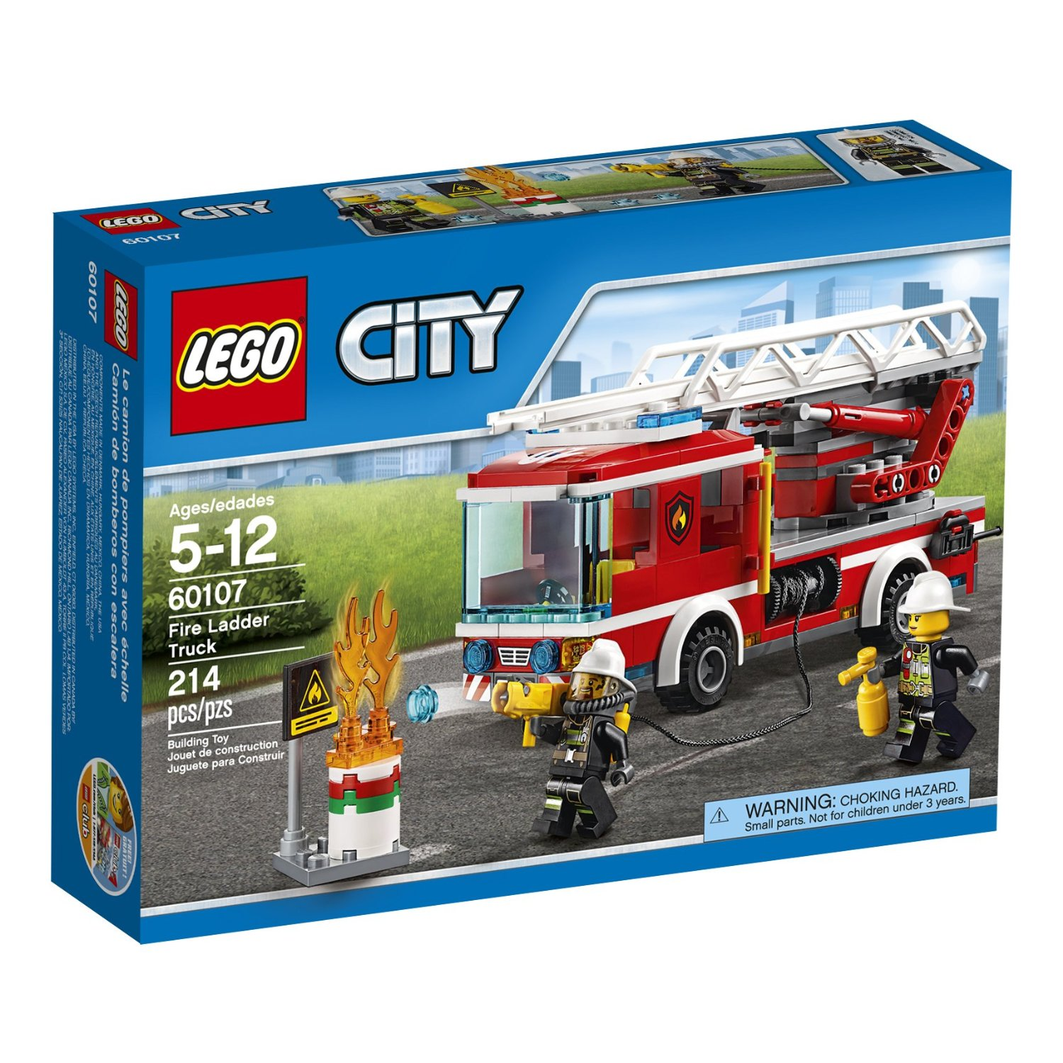 Lego City Fire Ladder Truck Only 18 45 Lowest Price