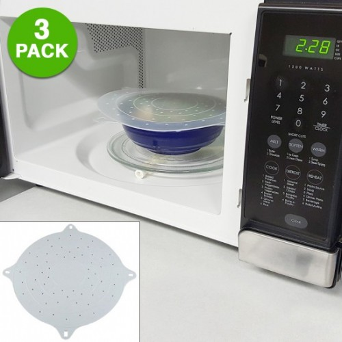 Why Do We Cover Food In Microwave: Set Of 3 Microwave Splatter Covers Only $6.49 + FREE