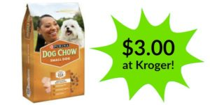 Kroger: Purina Dog Chow Only $3.00!