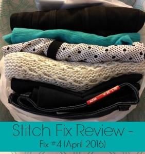 Stitch Fix Review: Fix #4 (April 2016)