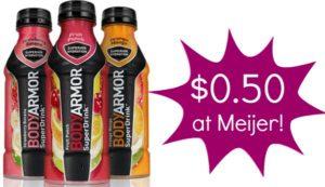 Meijer: BodyArmor Sports Drinks Only $0.50!