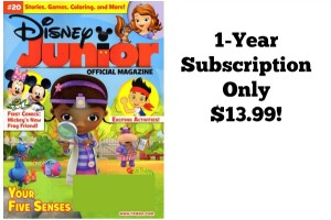Disney Junior Magazine Just $13.99 per Year!