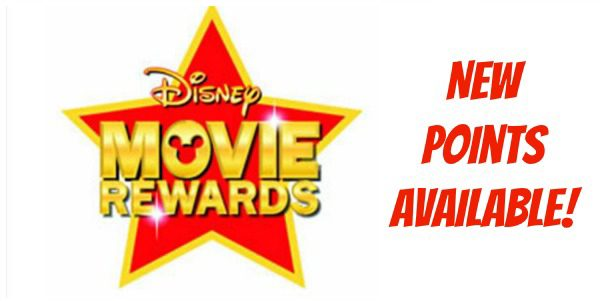 disney movie rewards new points