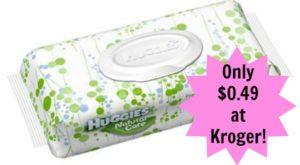 Kroger: Huggies Wipes Only $0.49!