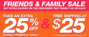 Save an Extra 25% during the Macy's Friends & Family Sale AND Enter to Win a $50 Macy's Gift Card! (40 winners) #FRIENDlyMacys