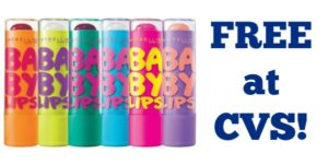 FREE Maybelline Baby Lips at CVS!
