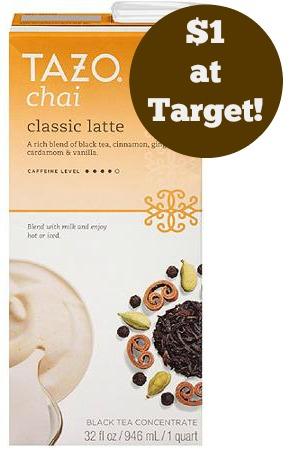 tazo chai latte target