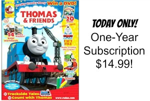 Thomas and Friends Magazine Only $14.99! (cover price $39.92)
