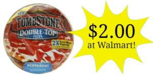 Walmart: Tombstone Pizzas Only $2.00!